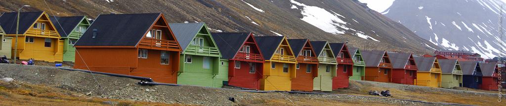 2 Gekleurde huisjes