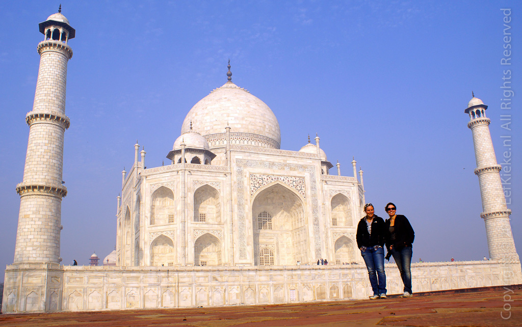 7. Together with the Taj