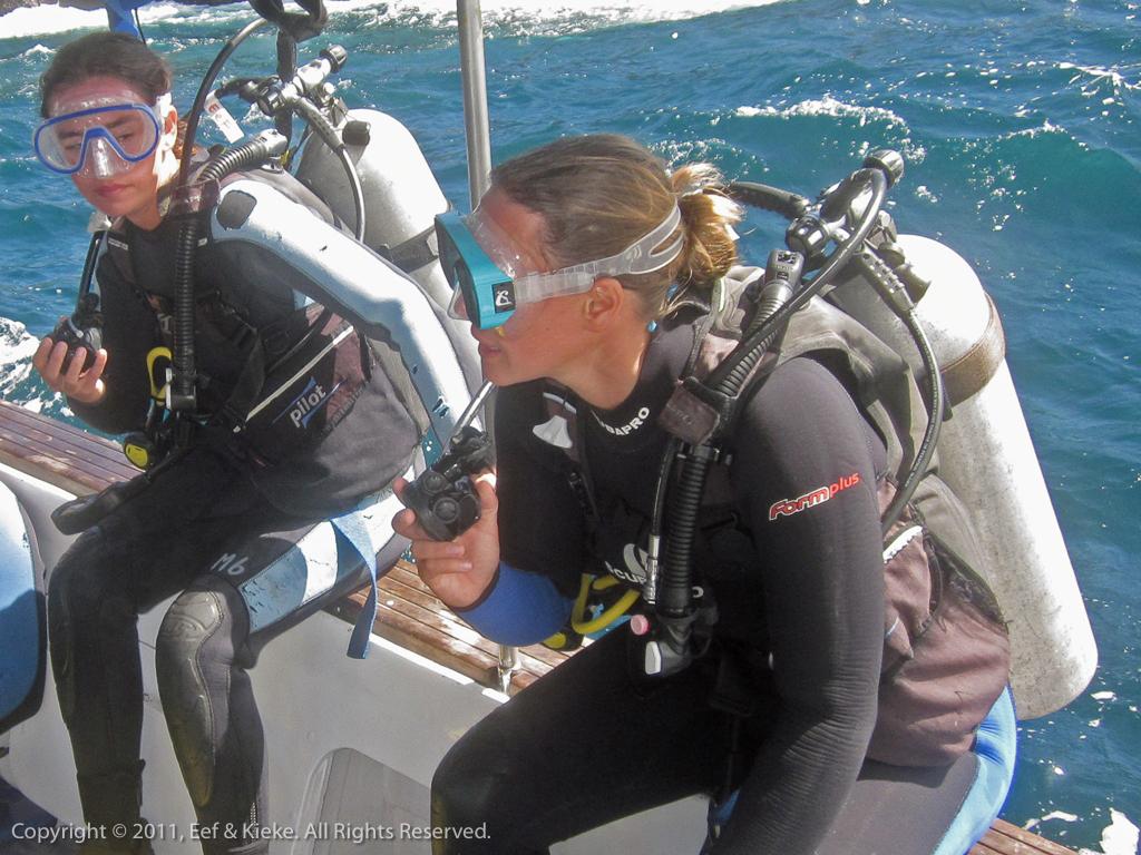 duiken - 04 klaar om te duiken