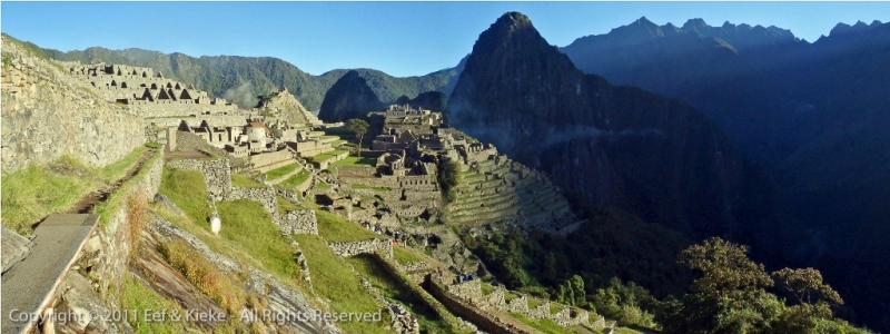 Zonsopgang-Machu-Picchu