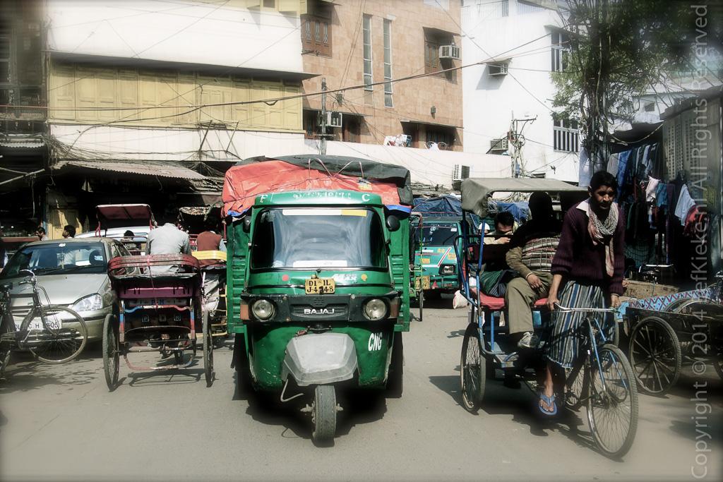 01 Drukte in Delhi